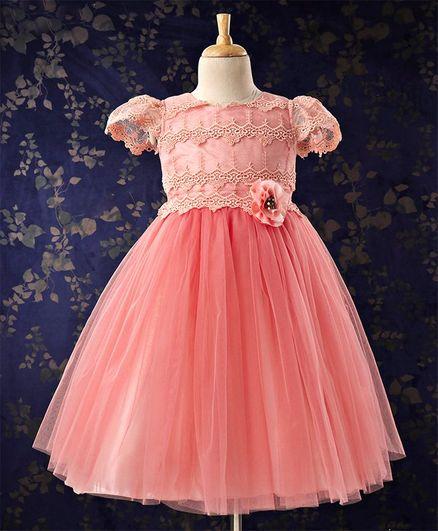 b53e6700dcb Buy Bluebell Frocks   Dresses Sleeveless PEACH 18(1.5 to 2.5 Yrs ...
