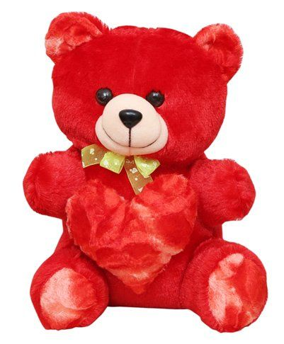 Harry & Honey Teddy Bear Red - 27 cm