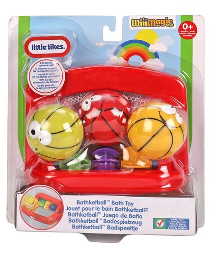 Little Tikes Little Champs Bathketball - Red & Yellow