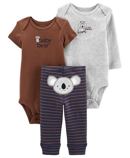 Carter's 3 - Pieces Koala Little Construction Set - Multicolor