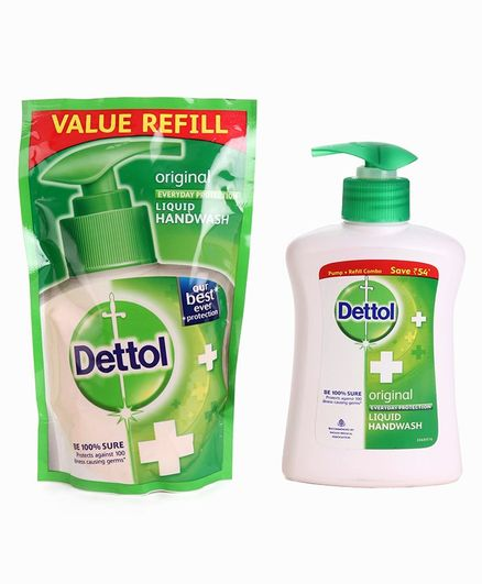 Dettol Liquid Hand Wash Refill Combo Original - 200 ml Online in