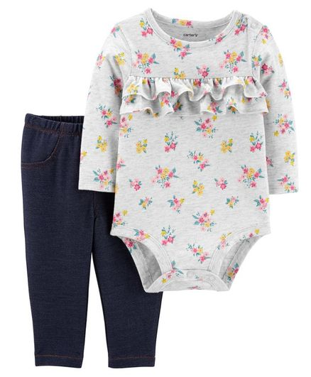 Three piece outfit Child of Mine newborn nwt