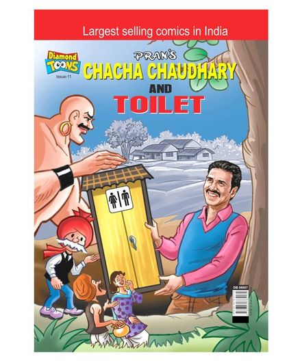 Chacha Chaudhary & Tiolet - English