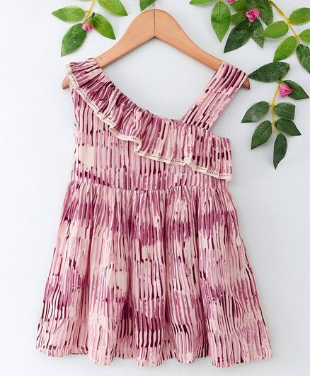 31e198a21f911 Buy LOL Land of Littles Printed Sleeveless Dress Pink for Girls (4-5 Years)  Online in India, Shop at FirstCry.com - 2556726
