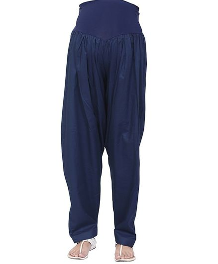 3ec3b78d61a560 Uzazi Solid Full Length Bottom - Navy Blue. Medium, Ideal Maternity wear For  ...