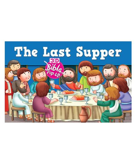 The Last Supper 3D Bible Pop Up Book English Online in India, Buy at Best  Price from Firstcry com - 2580409