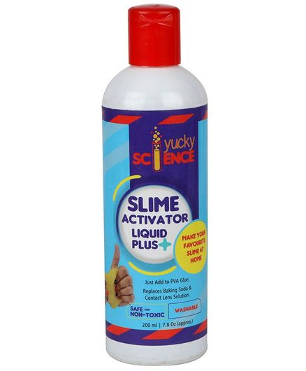 how to make slime activator without baking soda