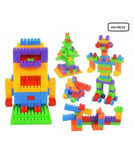 Syga Building Block Game Multicolor - 416 Pieces