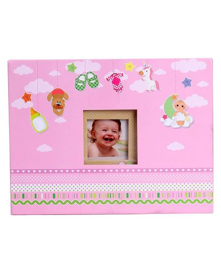 Archies Baby Scrap Photo Album Pink