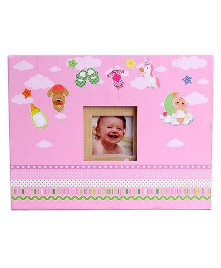 Archies Baby Scrap Photo Album Pink-3