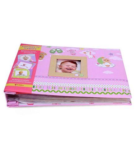 Archies Baby Scrap Photo Album Pink-5