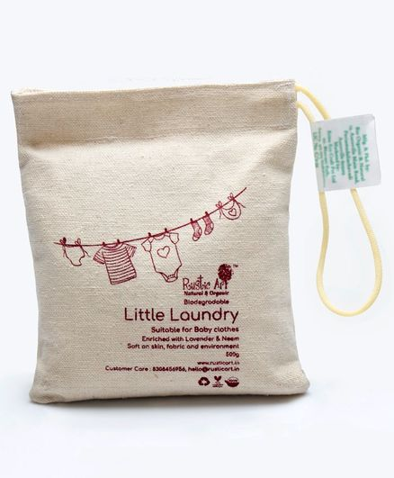 Rustic Art Little Laundry Powder - 500 gm