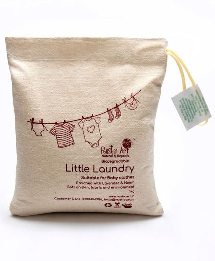 Rustic Art Little Laundry Powder - 1000 gm