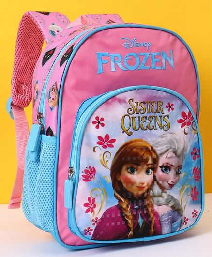 Disney Frozen Sisters School Bag Pink - 12 Inches