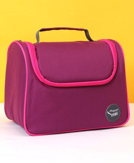 Maped Solid Color Lunch Bag - Purple