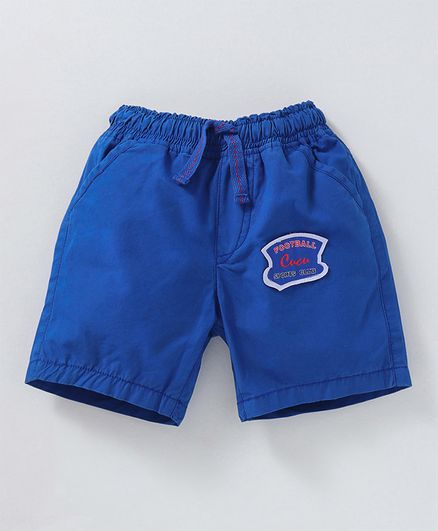 Cucumber Shorts Football Patch - Royal Blue