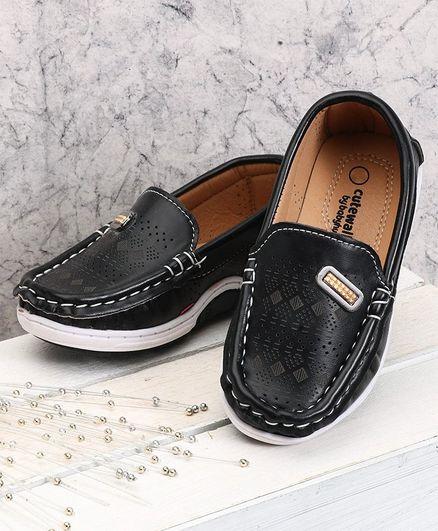 baby boy black formal shoes