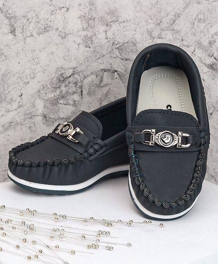 cef4218fe Buy Cute Walk by Babyhug Party Wear Loafer Shoes Blue for Boys (2 ...