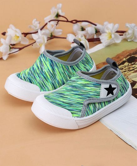 Cute Walk by Babyhug Casual Shoes - Green