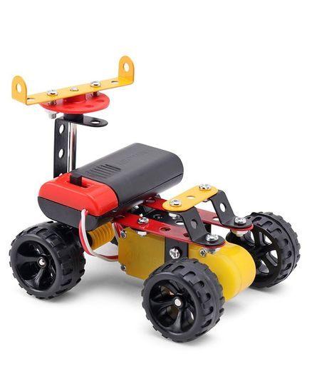 Zephyr Motorized Mechanix  Robotix System For Kids - Yellow & Black