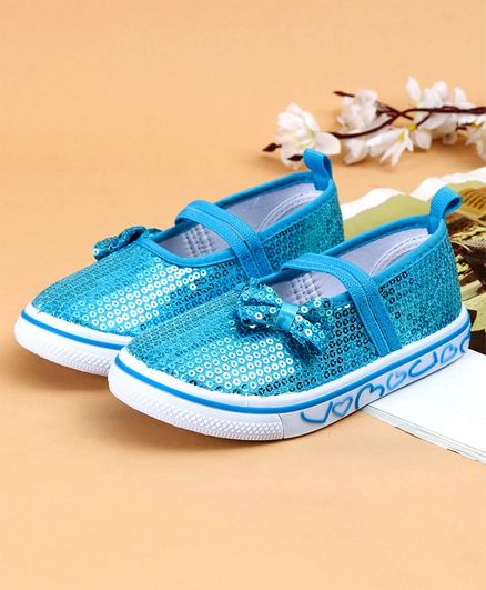 Cute Walk by Babyhug Casual Shoes Sequin Detailing - Blue
