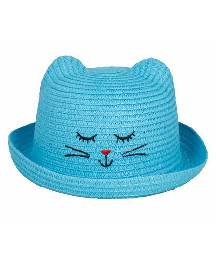 Kidofash Kitten Design Hat - Blue