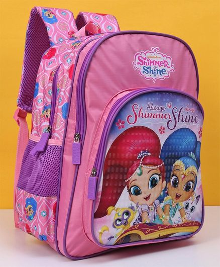 Shimmer & Shine School Bag Pink  - 16 Inches