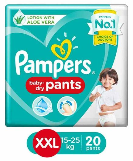 Pampers Pant Style Diapers XXL Size - 20 Pieces