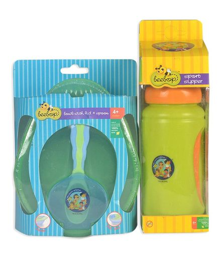 Beebop Baby Essentials Combo Set - Green