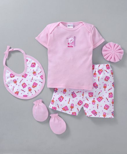 Montaly Clothing  Gift Set Pink - 5 Pieces