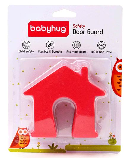 Babyhug House Shape Door Stopper - Pack of 2