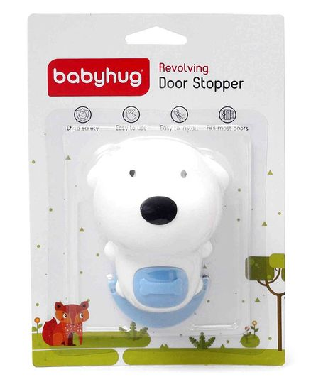 Babyhug Door Stopper - White