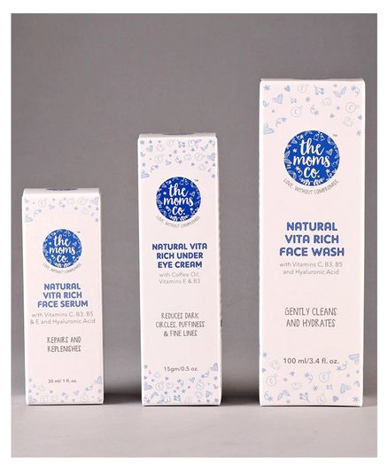 the moms co. Natural Vita Rich Night Repair Combo Pack - 3 items