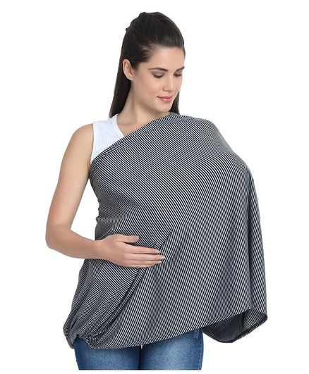 Kassy Pop Multi Use Nursing Breastfeeding Cover – Grey