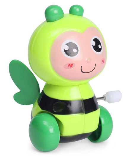 Bee Shaped Wind Up Toy - Green