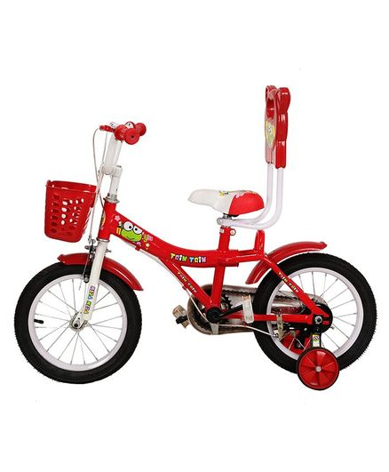 fa911be9 GetBest Trin Trin Kids Bicycle With Basket Red 14 inches Online in ...