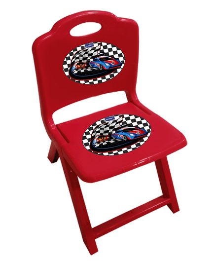 Wondrous Kuchicoo Kids Folding Plastic Chair Red Online In India Buy At Best Price From Firstcry Com 2714273 Beutiful Home Inspiration Semekurdistantinfo