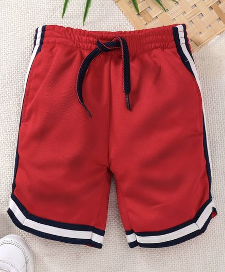Little Kangaroos Knee Length Shorts - Red