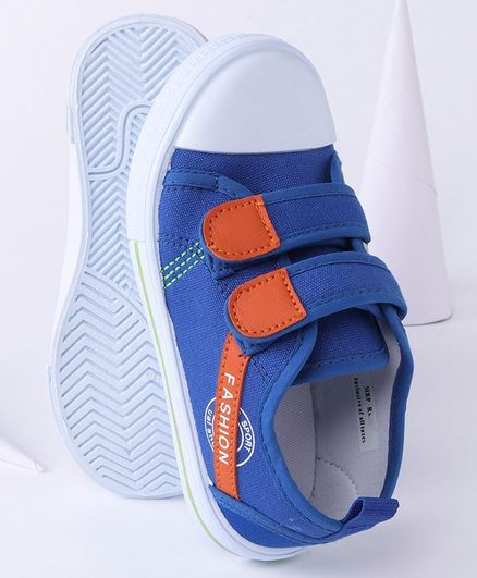 Cute Walk By Babyhug Casual Canvas Shoes - Blue