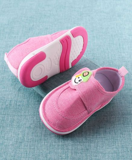 Cute Walk by Babyhug Casual Shoes - Pink