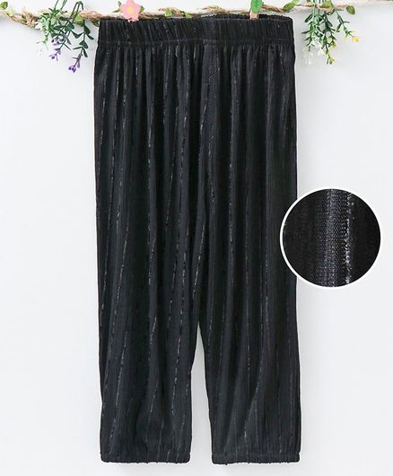 Meng Wa Full Length Lounge Pant - Black