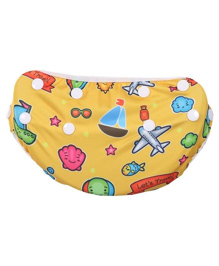 Polka Tots Reusable Swim Diaper Travel Design