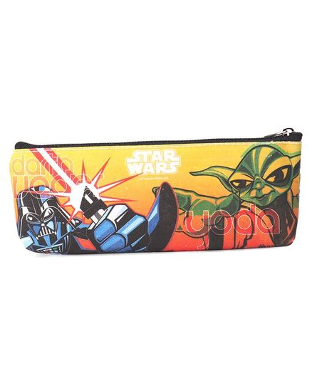 Star Wars Storm Trooper Pencil Pouch - Yellow