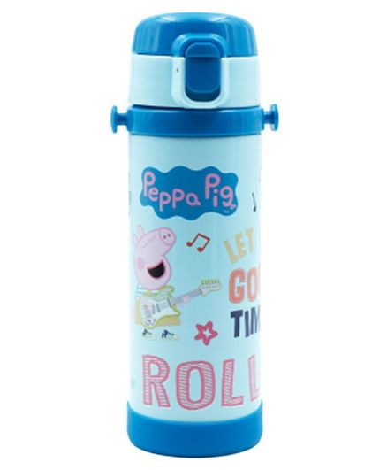 Youp Insulated Steel Water Bottle Peppa Pig Print Blue 500 ml Online in  India, Buy at Best Price from Firstcry com - 2773036