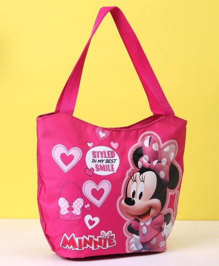 Disney Minnie Mouse Hand Bag - Pink