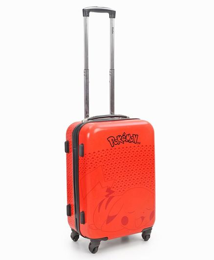 Pokemon Trainer Orange Trolley - Height 50.8 cm