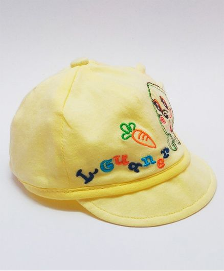 a1351f72b KidOWorld Fish Embroidered Cap Yellow Online in India, Buy at Best Price  from Firstcry.com - 2789437