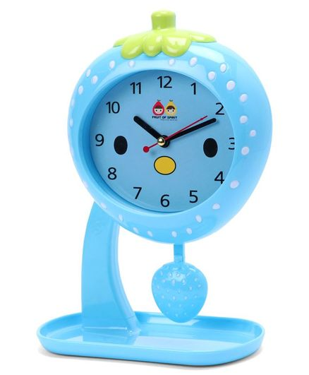 Fruit Swing Alarm Clock - Blue