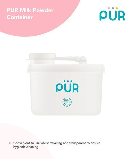 Pur Milk Powder Container - White