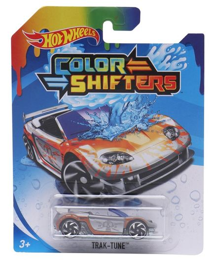Hot Wheels Color Shifters Trak Tune Silver Orange For 3 8 Years Online India Buy At Firstcry Com 2812482